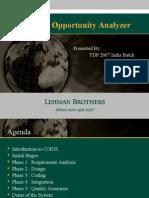 Lehman COA