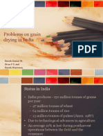 Problems on grain drying in India.pptx