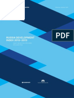 Russia Development Index 2012–2013 (Valdai Index)
