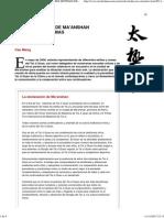 LA DECLARACIÓN DE MA'ANSHAN Y LOS TRES SISTEMAS DEL TAIJIQUAN