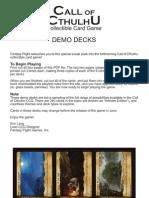 Coc Demo Decks