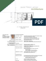 J. Pérez-Lanzac ARCHITECTURE WORK PORTFOLIO  Autumm 2013