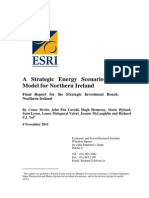 A strategic energy scenario planning for Northern Ireland