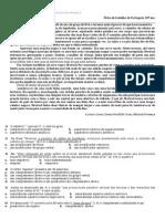 Ficha de trabalho2 de Português 10ª ano