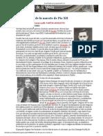 A los 55 años de la muerte de Pío XII