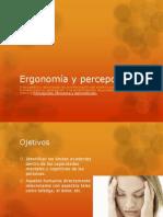 Ergonomía y percepción