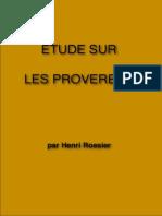 Etude Sur Les Proverbes HR