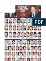 Kabinet Malaysia 2009
