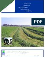 Produccion y Utilizacion de La Alfalfa en La Zona Norte de Mexico