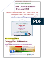 October-2013 Complete Current Affairs.pdf