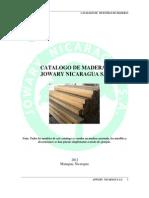 Tipos y Uso de Madera en Nicaragua