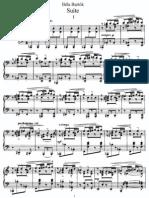 Bartok - SZ 62 - Suite for Piano (Op 14)