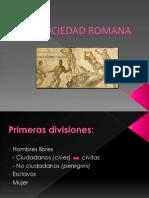 La Sociedad Romana