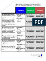 dodea science content standards-glencoe integrated science correlation  8th grade