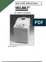 Welbilt manual ABM3100