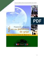 Plan Pandemia Madrid 07-05-2009