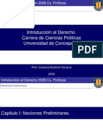 Introduccion Al Derecho Udec 2009 Parte i