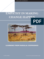 Empathy in Making Change Happen