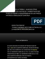Factores Que Afectan Biodiversidad Maiz Criollo