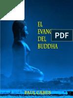 El Evangelio Del Buddha - Paul Carus