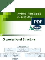 Investor Presentation June 07.ppt
