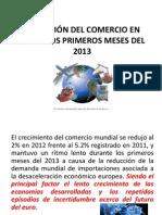EVOLUCIÓN DEL COMERCIO EN 2012 Y LOS PRIMEROS