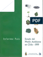 Estado Del Medio Ambiente en Chile 1999