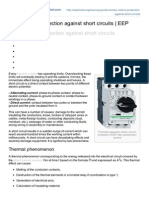 AC Motors Protection Against Short Circuits EEP