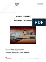 Manuel Utilisateur ICP MS XSeries 2