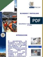 Bloqueo y Rotulado de Seguridad Procesos 2010