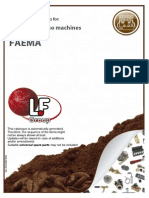 Espresso Machines FAEMA 201309021036 Lf