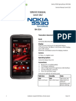 Nokia RM-504 5530XpressMusic Service Manual L1L2v7.0