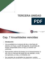Presentación Cálculo Financiero Anualidades Vencidas y Anticipadas