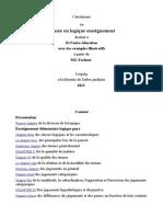 Catéchisme ou pensée ou logique enseignement-français-Gustav Theodor Fechner..odt