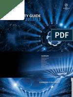UEFA UCL Hospitality-Guide 20122013
