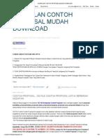 253 KUMPULAN CONTOH PROPOSAL MUDAH DOWNLOAD di blog http://proposal-lengkap.blogspot.com/