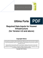 Ultima Forte Required Data Inputs for Huawei Infrastructure.pdf