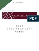 Logo Specifications Guide // Papakura Museum