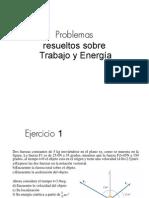 Ejercicios Resueltos Trabajo Energia