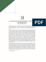 La psicología transpersonal orígenes y consolidación, Luis Del Villar Pérez