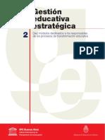 pilar pozner gestión educativa estratégica