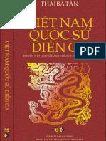Việt Nam quốc sử diễn ca - Thái Bá Tân