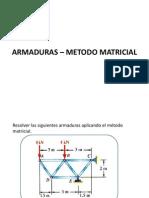 ARMADURAS - METODO MATRICIAL(2)