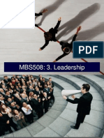 Mbs508 - 3 Leadership