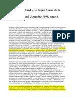 Baudrillard - Le degré Xerox de la violence