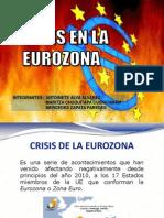 Crisis Del a Zona Euro