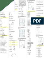 Formulario de Calculo Diferencial e Integral (Nxpowerlite)