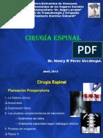 Cirugia espinal