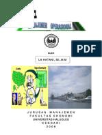 Buku Ajar Manajemen Operasional