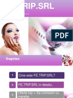 Prezentare Power Point Firma De Exercitiu De Cosmetice
